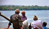 Clients enjoying the River view.jpg